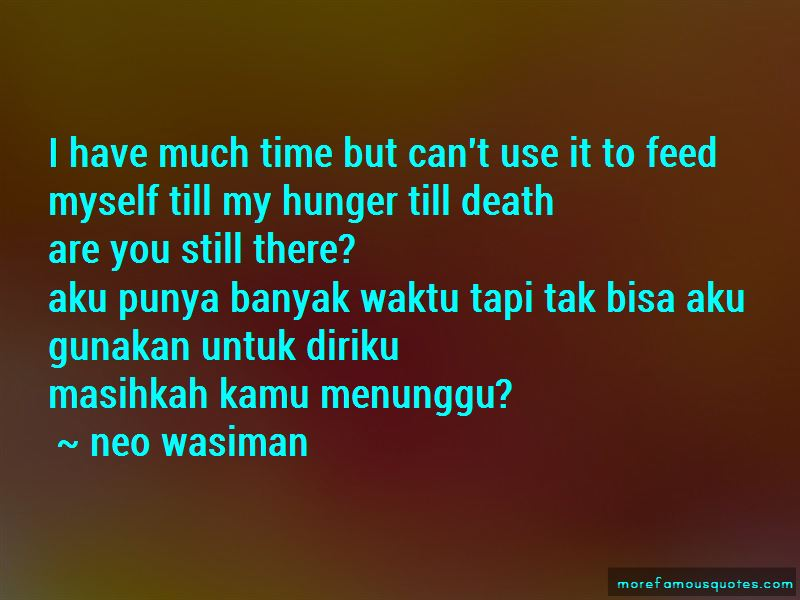 Neo Wasiman Quotes Pictures 3
