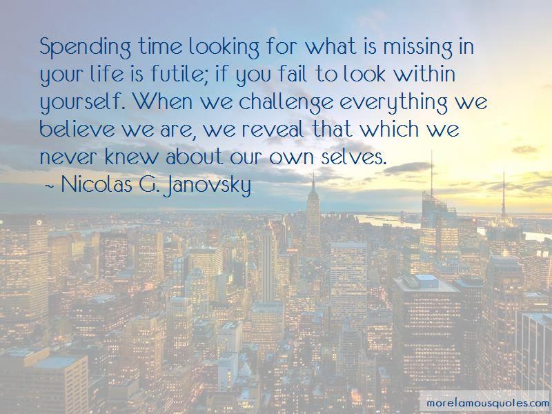Nicolas G. Janovsky Quotes