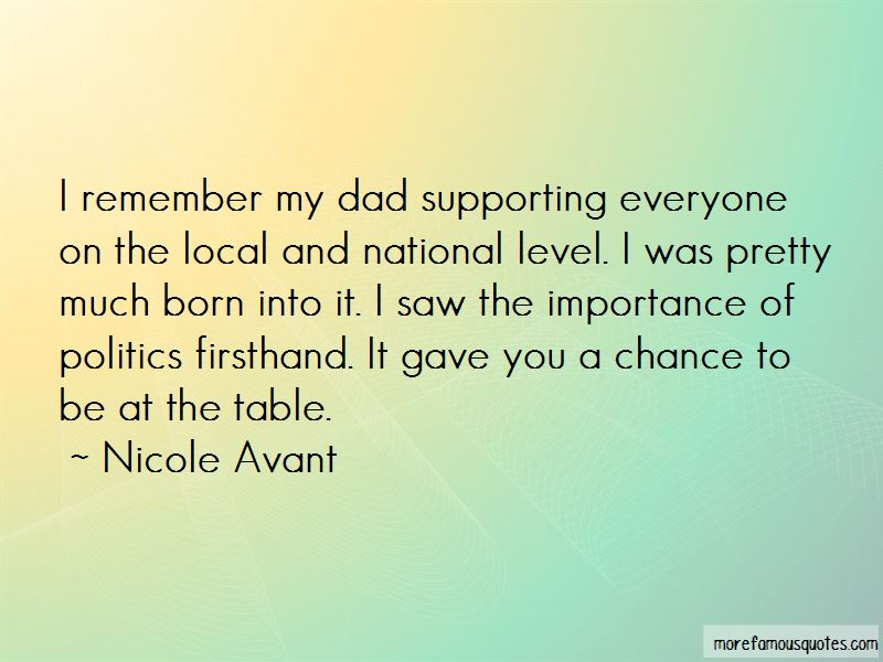 Nicole Avant Quotes Pictures 2