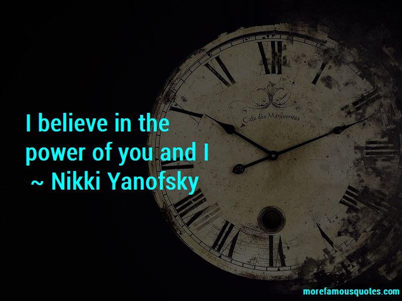 Nikki Yanofsky Quotes