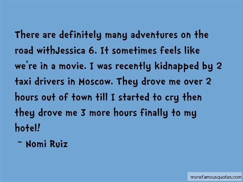 Nomi Ruiz Quotes Pictures 2