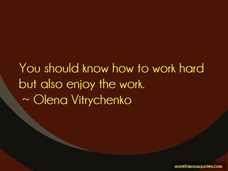 Olena Vitrychenko Quotes Pictures 2