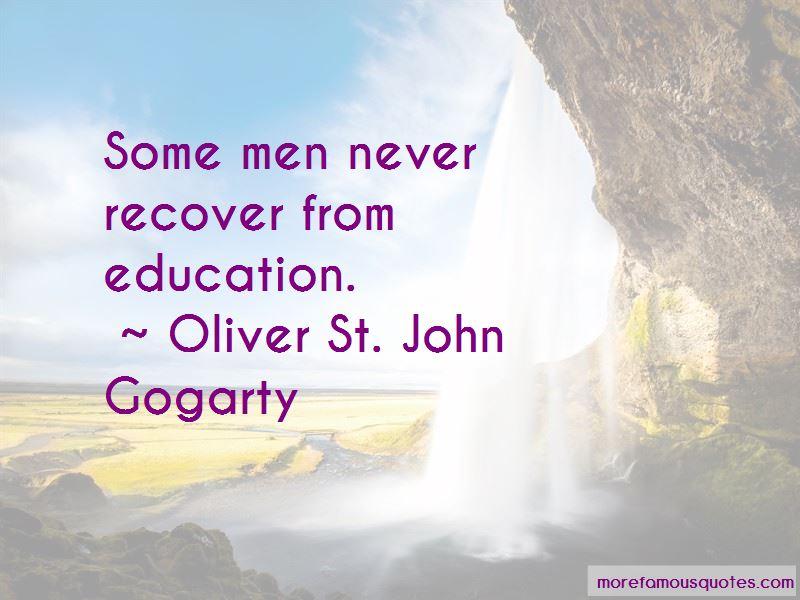 Oliver St. John Gogarty Quotes