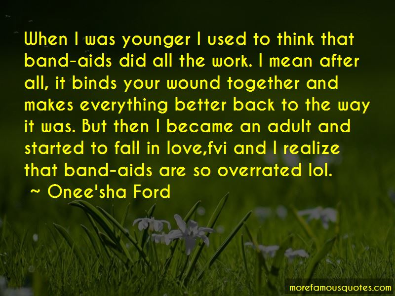 Onee'sha Ford Quotes