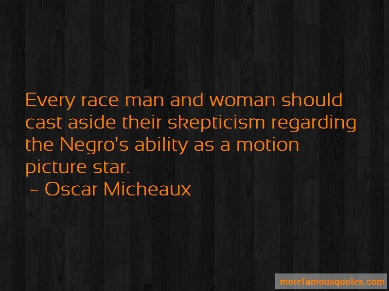 Oscar Micheaux Quotes