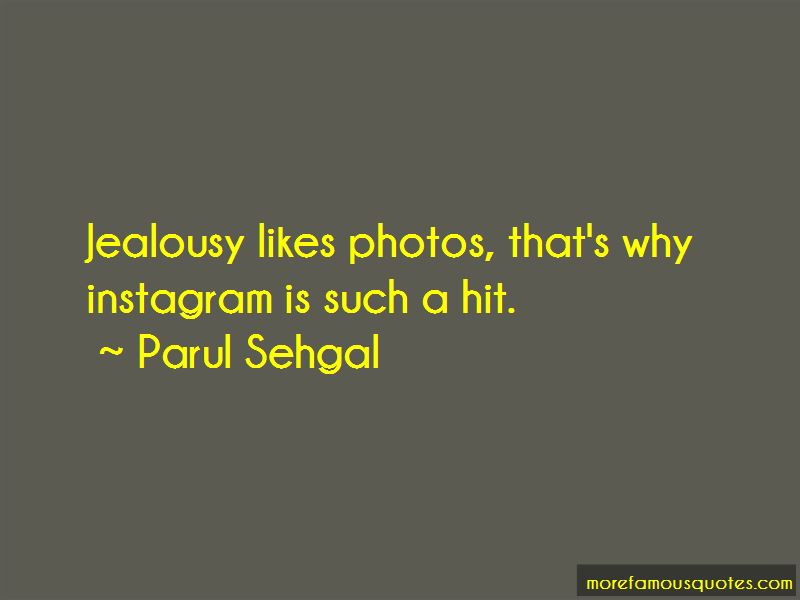 Parul Sehgal Quotes