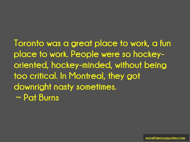 Pat Burns Quotes Pictures 4