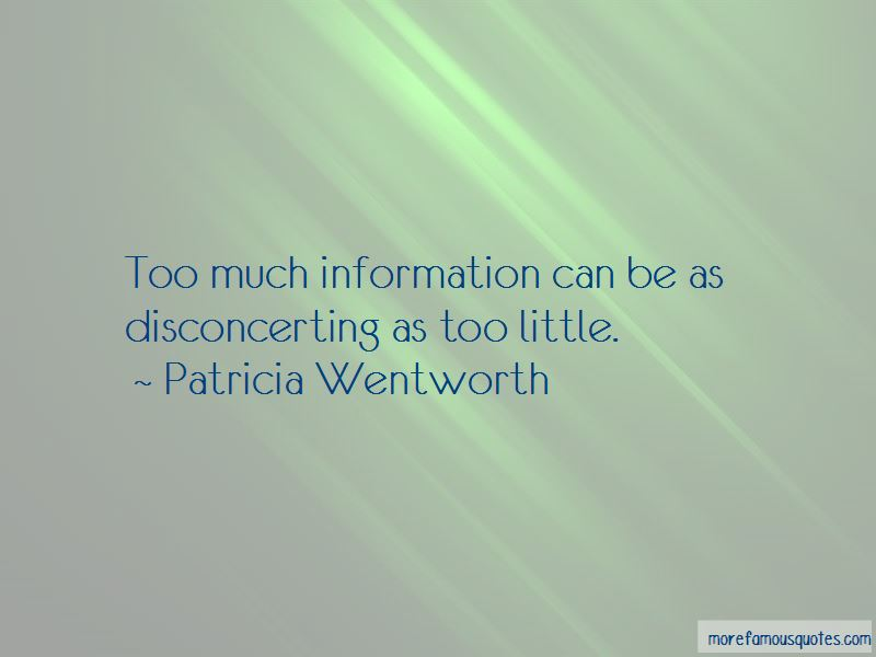 Patricia Wentworth Quotes Pictures 2