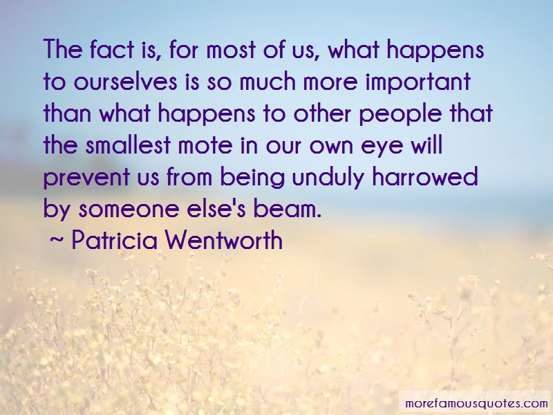 Patricia Wentworth Quotes
