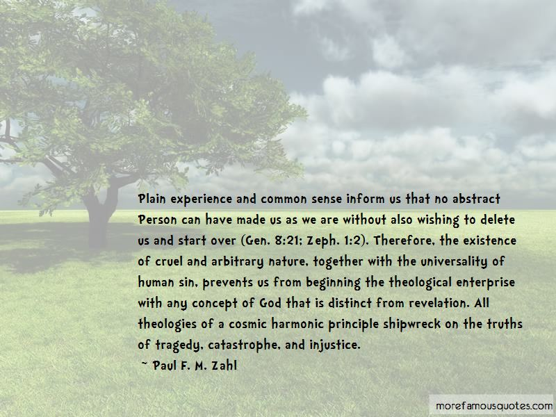 Paul F. M. Zahl Quotes