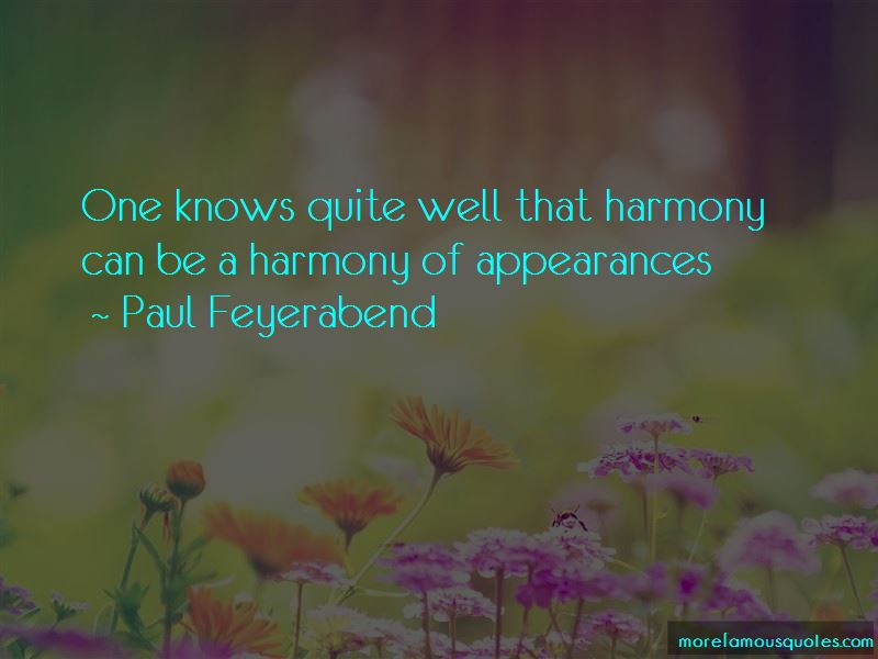 Paul Feyerabend Quotes Pictures 3