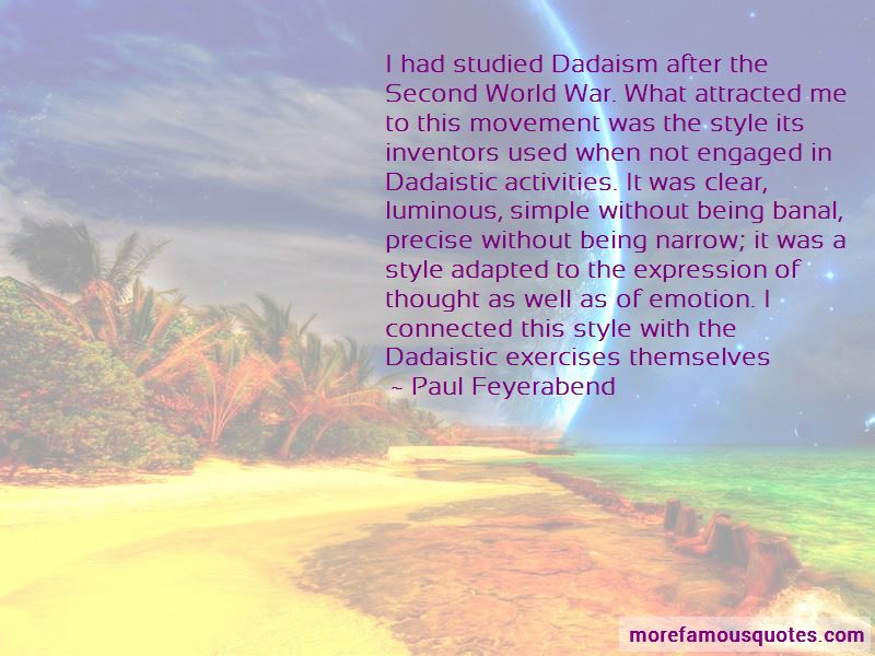 Paul Feyerabend Quotes Pictures 4