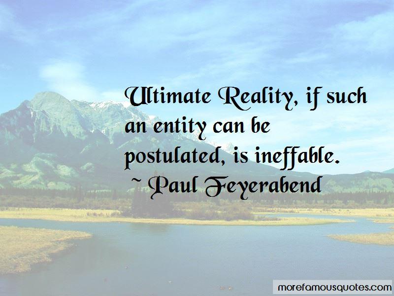 Paul Feyerabend Quotes