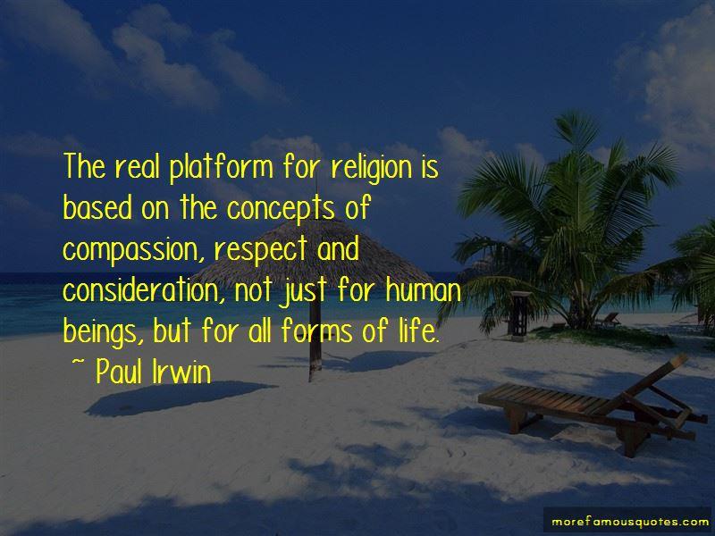 Paul Irwin Quotes