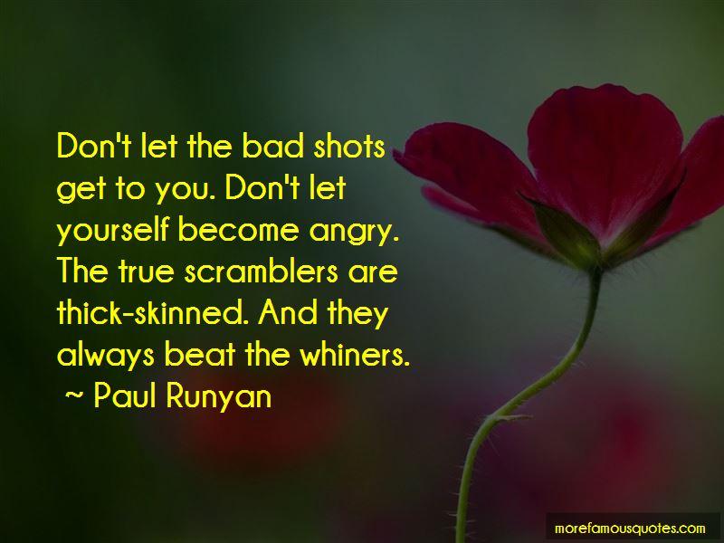 Paul Runyan Quotes