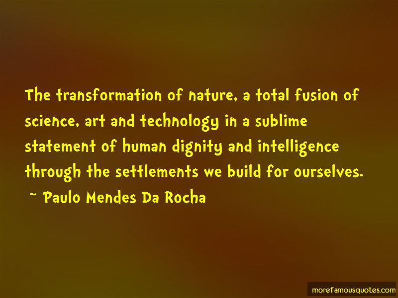 Paulo Mendes Da Rocha Quotes