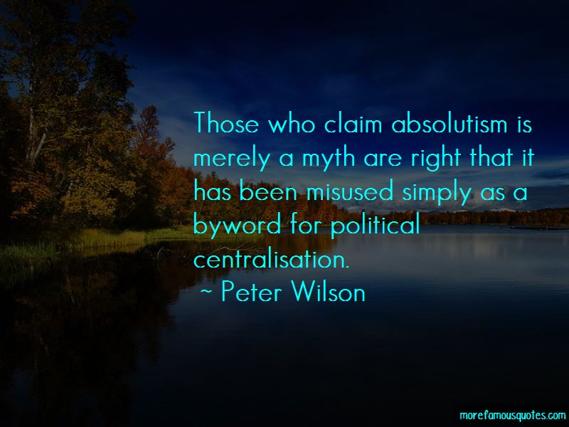 Peter Wilson Quotes Pictures 2