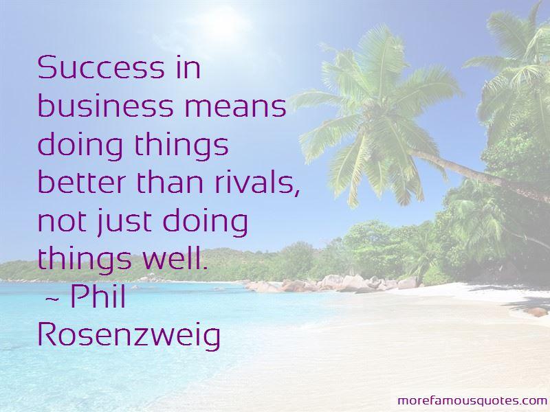 Phil Rosenzweig Quotes Pictures 2