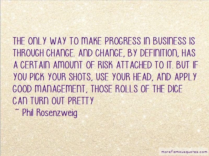 Phil Rosenzweig Quotes