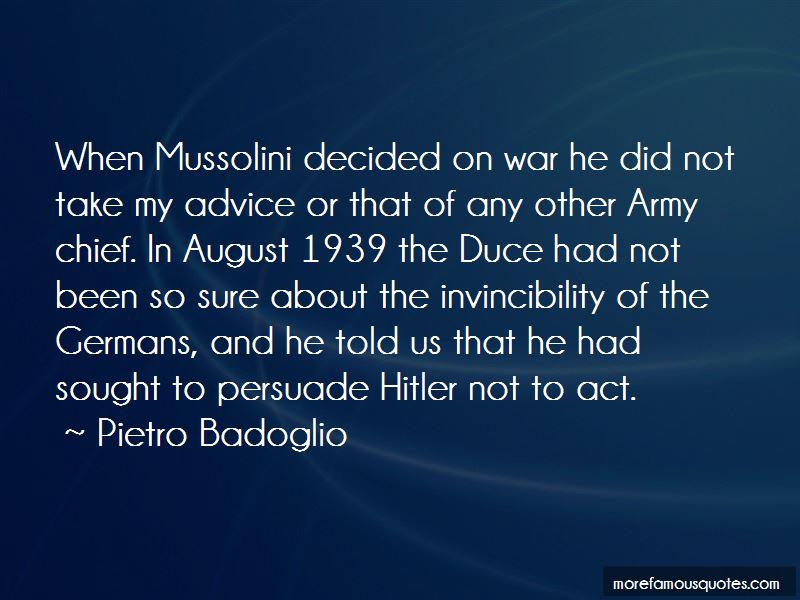 Pietro Badoglio Quotes Pictures 3