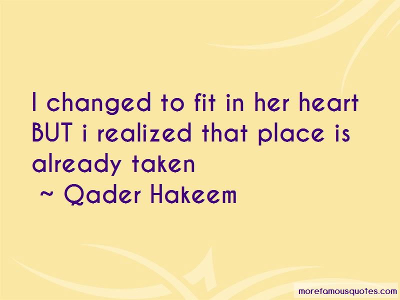 Qader Hakeem Quotes Pictures 1