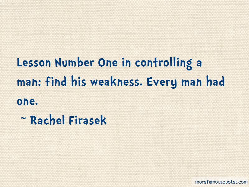 Rachel Firasek Quotes Pictures 4