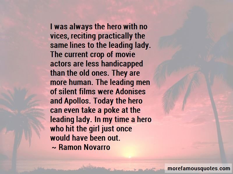 Ramon Novarro Quotes