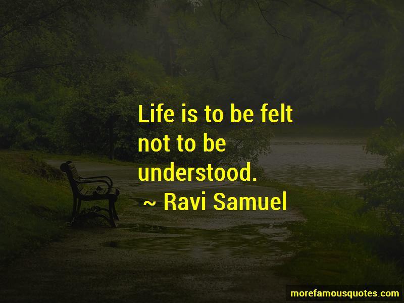 Ravi Samuel Quotes Pictures 4