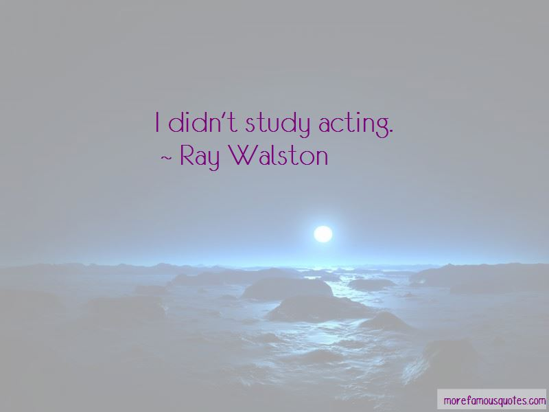 Ray Walston Quotes Pictures 2