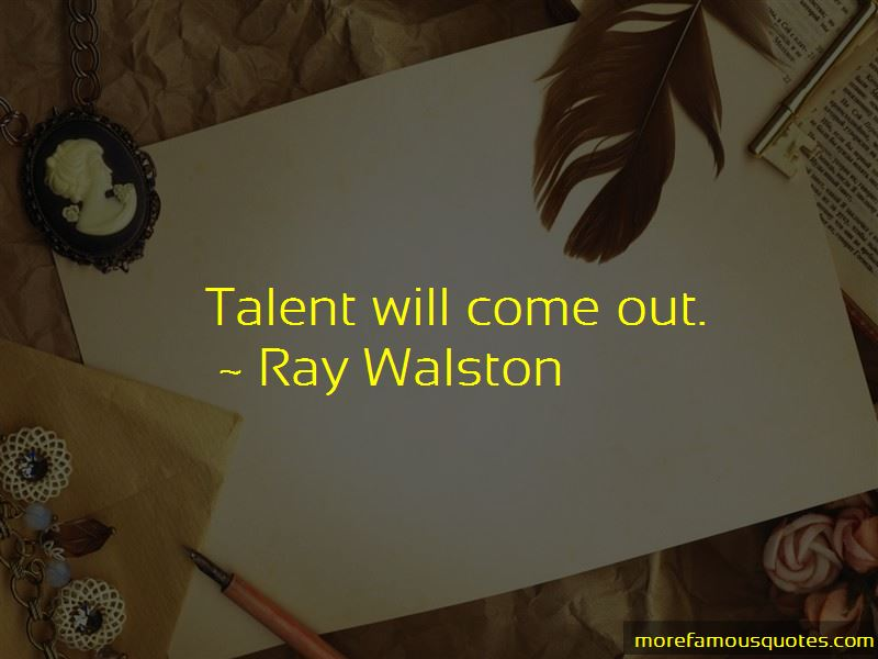 Ray Walston Quotes Pictures 3