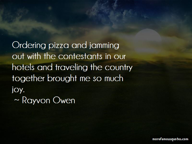 Rayvon Owen Quotes Pictures 2