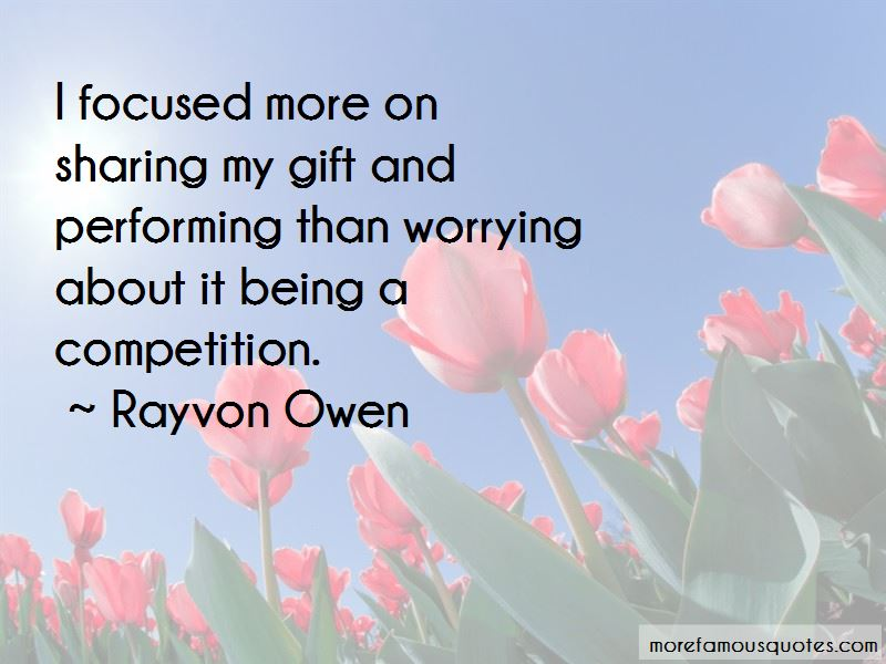 Rayvon Owen Quotes Pictures 3