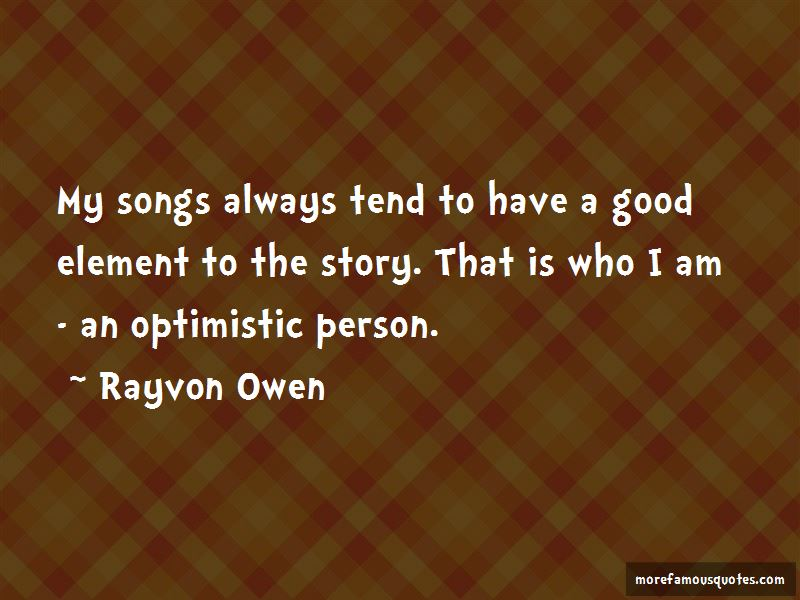 Rayvon Owen Quotes Pictures 4