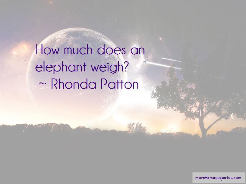 Rhonda Patton Quotes Pictures 2