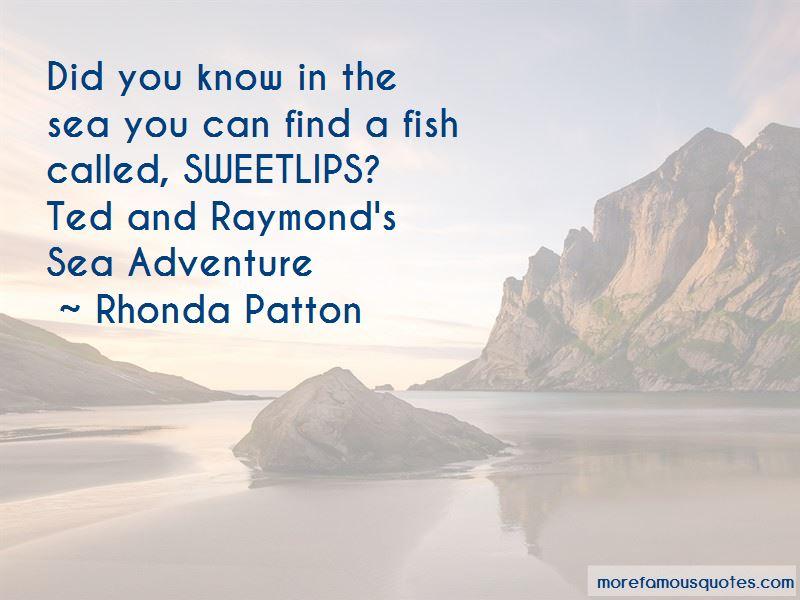Rhonda Patton Quotes