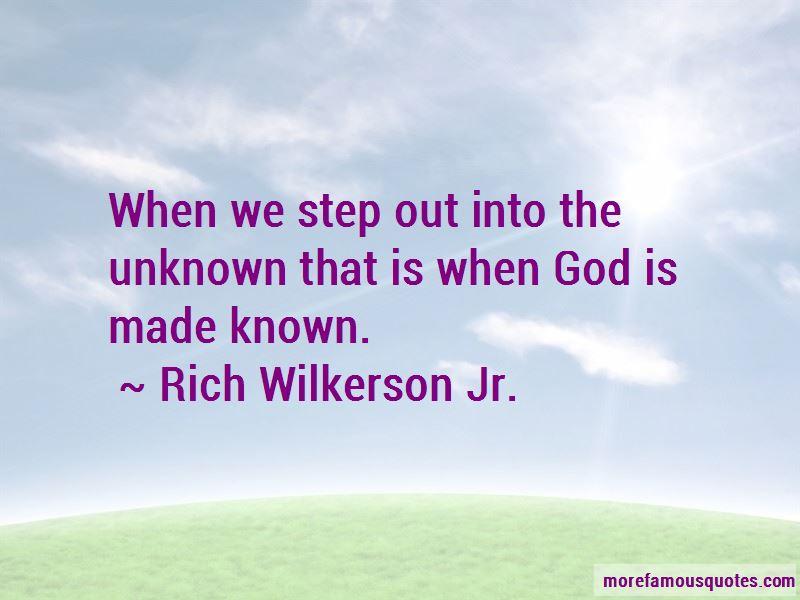 Rich Wilkerson Jr. Quotes Pictures 2