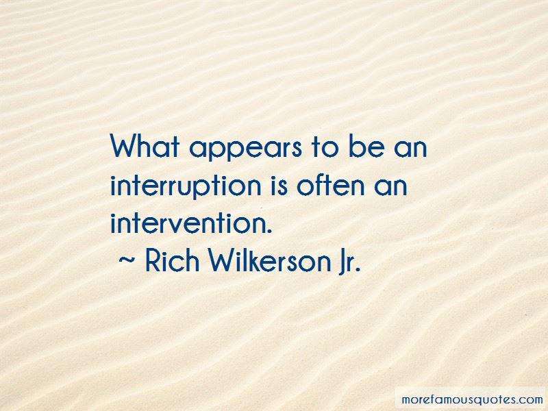 Rich Wilkerson Jr. Quotes Pictures 4