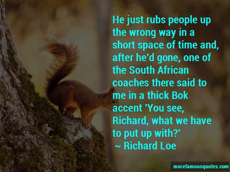 Richard Loe Quotes