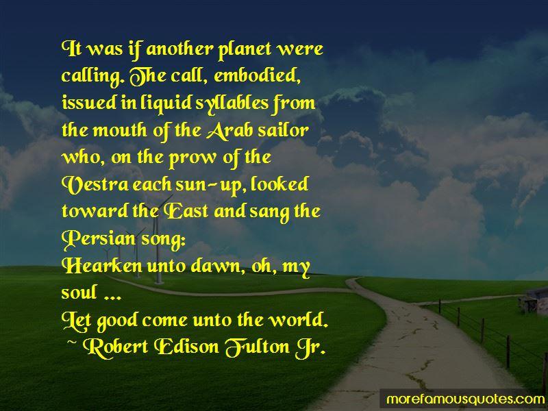 Robert Edison Fulton Jr. Quotes