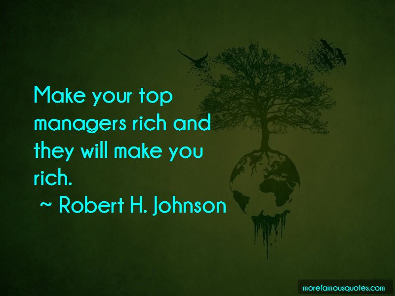 Robert H. Johnson Quotes