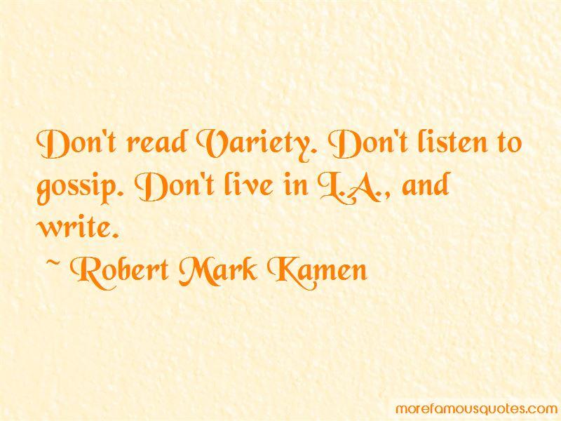 Robert Mark Kamen Quotes Pictures 2