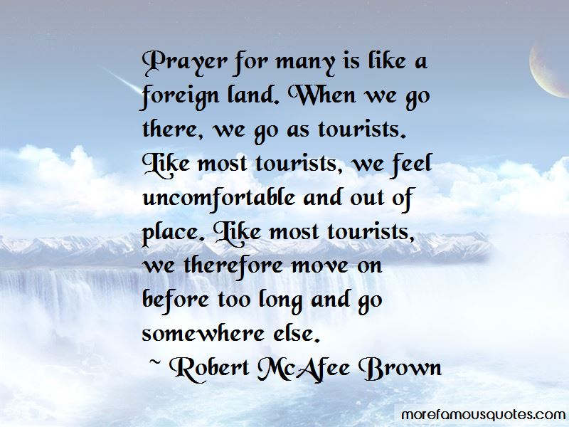 Robert McAfee Brown Quotes Pictures 2