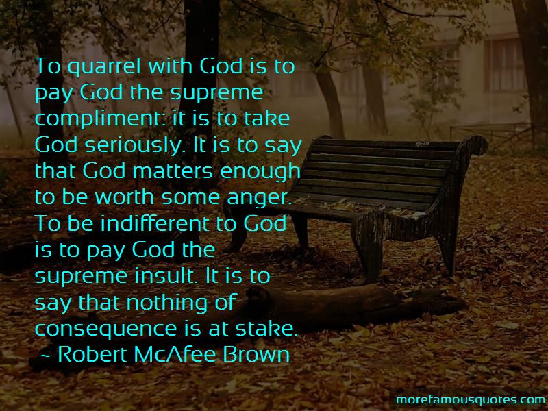 Robert McAfee Brown Quotes Pictures 4