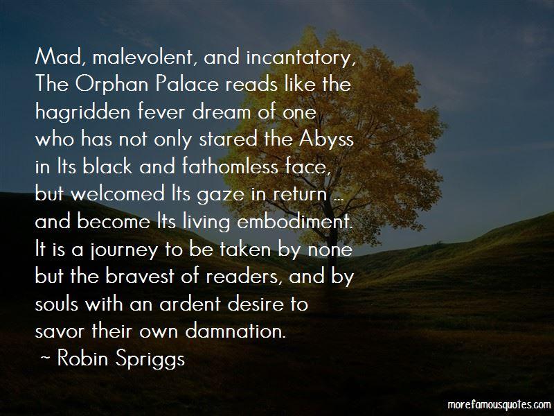 Robin Spriggs Quotes
