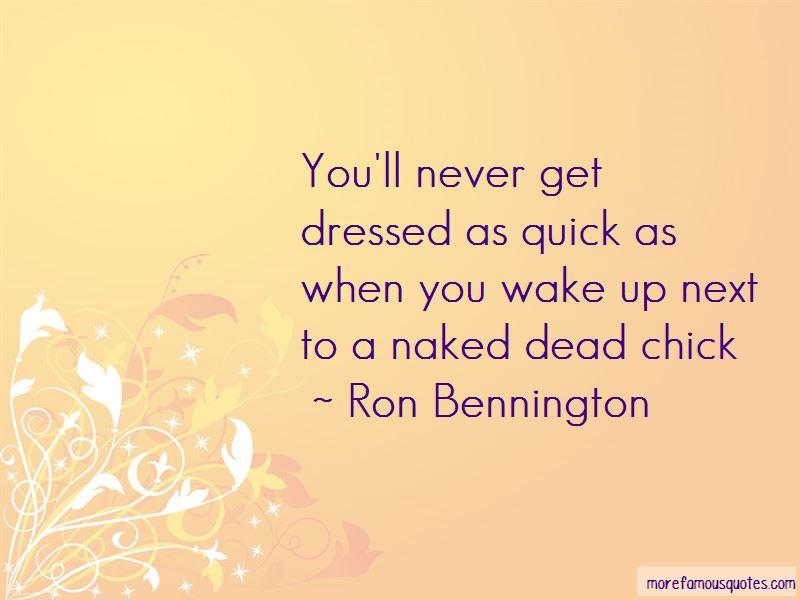 Ron Bennington Quotes Pictures 2