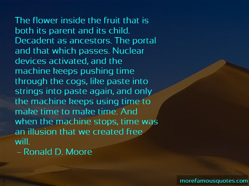 Ronald D. Moore Quotes Pictures 4
