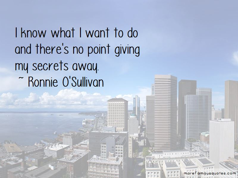 Ronnie O'Sullivan Quotes Pictures 4