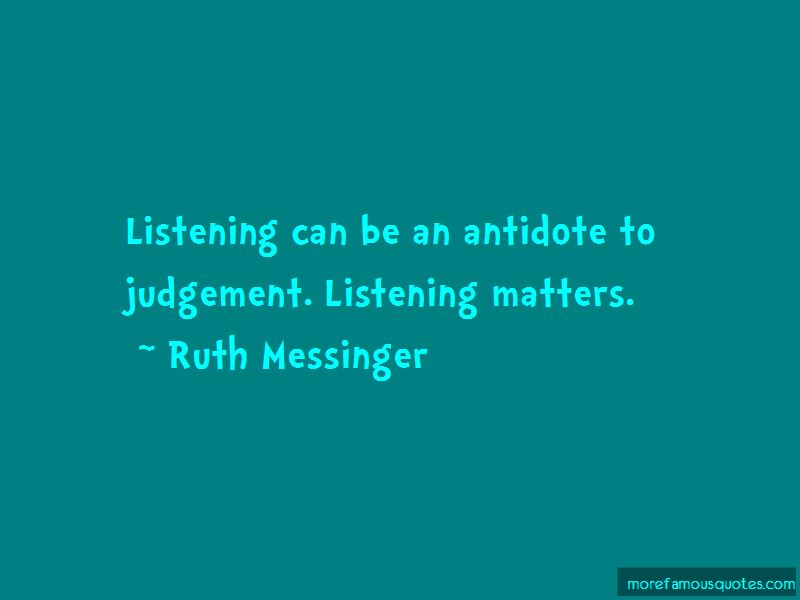 Ruth Messinger Quotes Pictures 2