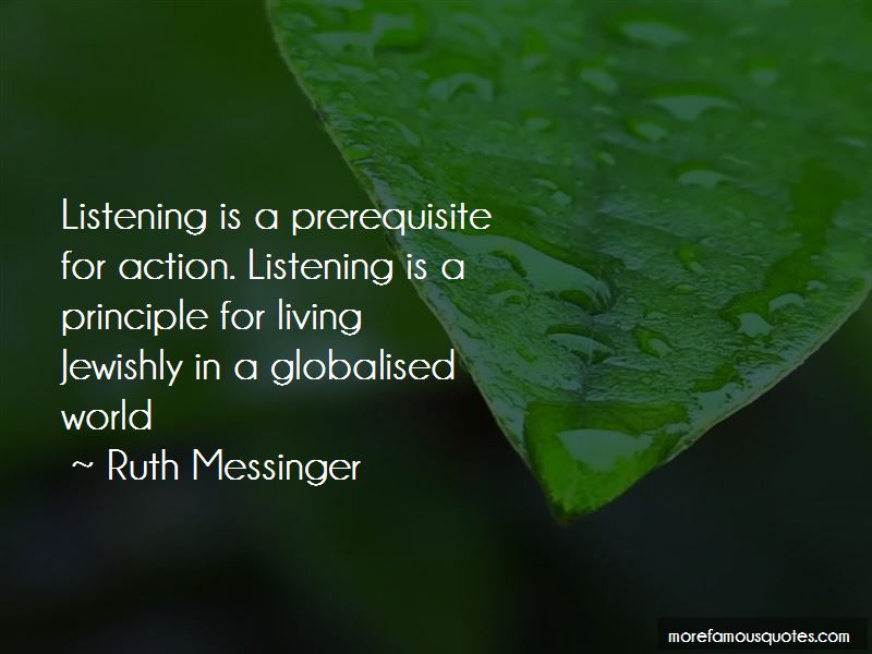 Ruth Messinger Quotes Pictures 3