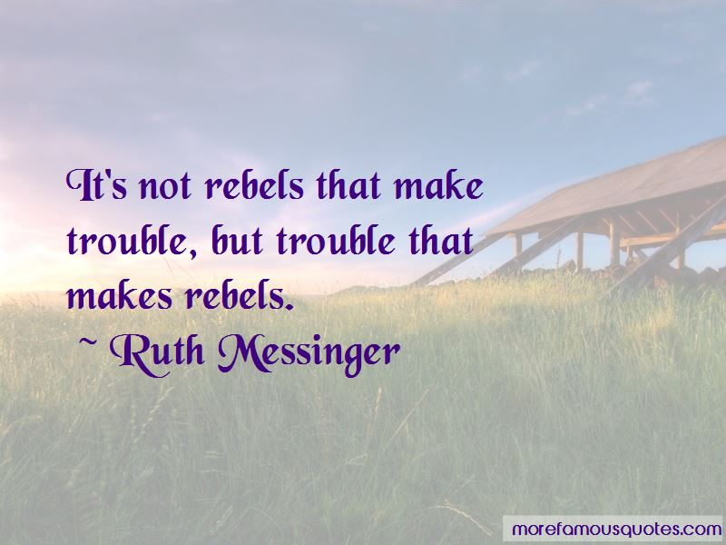 Ruth Messinger Quotes Pictures 4